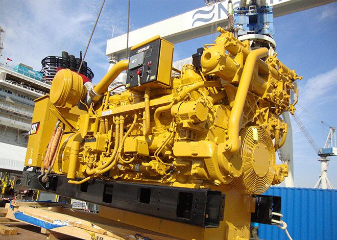 Auxiliary Diesel Generator Electrical Engineering & Design by Mareleng